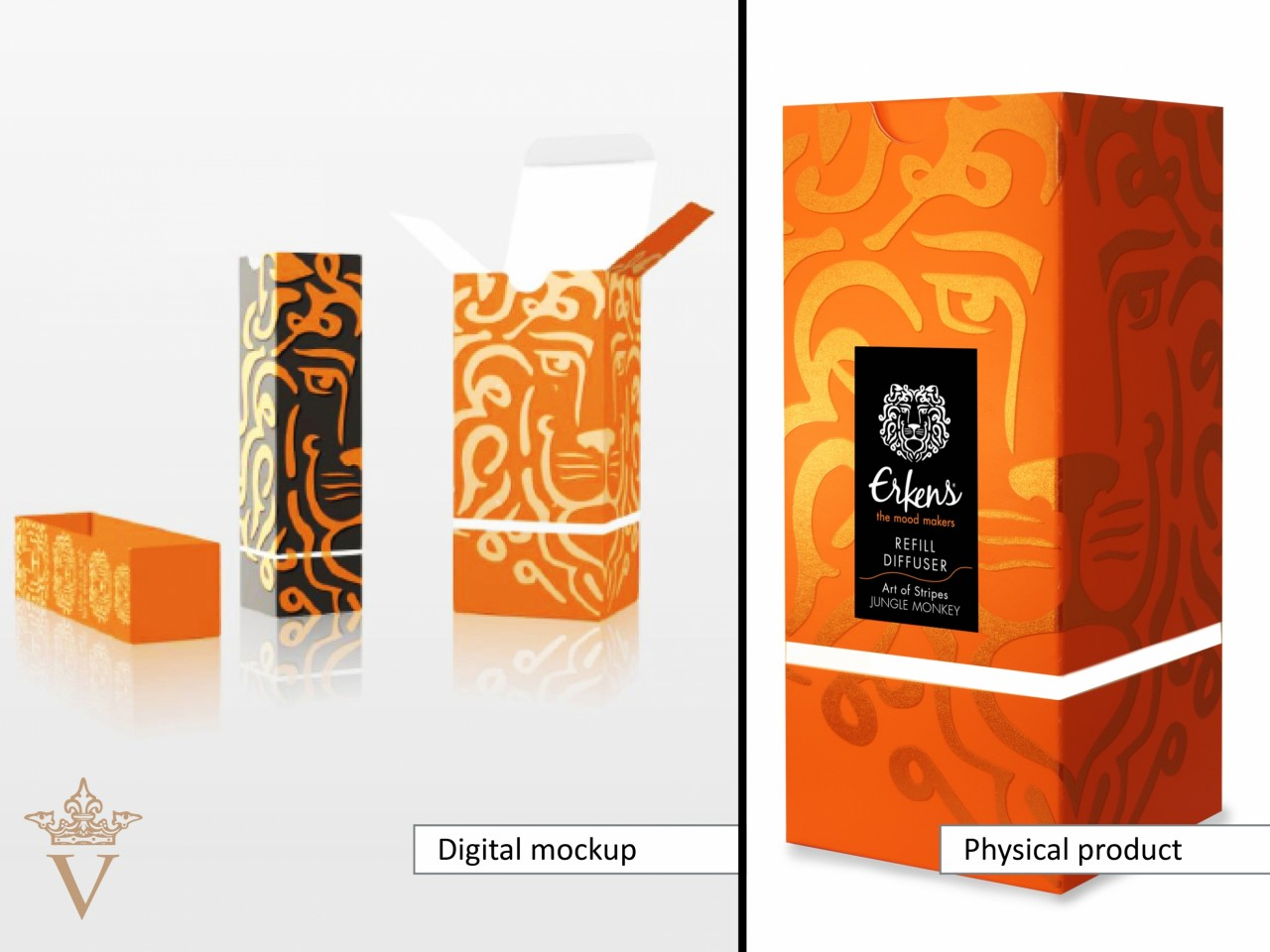 Erkens - the mood makers - 3D digitale mock-up vs. een fysiek prototype