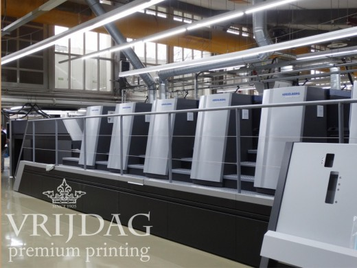 Heidelberg sheet fed offset printing press is up and running for 2 months
